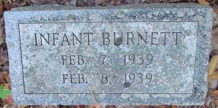 BURNETT, INFANT - Perry County, Arkansas | INFANT BURNETT - Arkansas Gravestone Photos