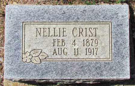 CRIST, NELLIE - Perry County, Arkansas | NELLIE CRIST - Arkansas Gravestone Photos