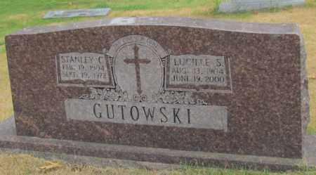 GUTOWSKI, STANLEY C - Perry County, Arkansas | STANLEY C GUTOWSKI - Arkansas Gravestone Photos