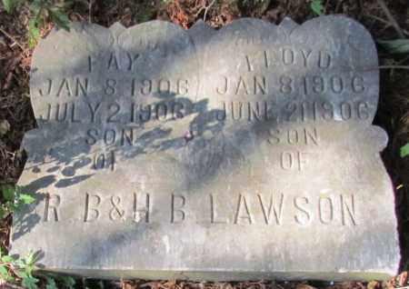 LAWSON, FLOYD - Perry County, Arkansas | FLOYD LAWSON - Arkansas Gravestone Photos