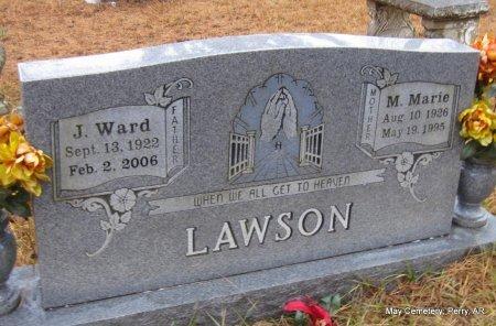 LAWSON, MARY MARIE - Perry County, Arkansas | MARY MARIE LAWSON - Arkansas Gravestone Photos