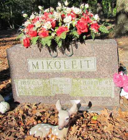 MIKOLEIT, FRED C L - Perry County, Arkansas | FRED C L MIKOLEIT - Arkansas Gravestone Photos