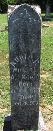 MOORE, ANNIE R - Perry County, Arkansas | ANNIE R MOORE - Arkansas Gravestone Photos