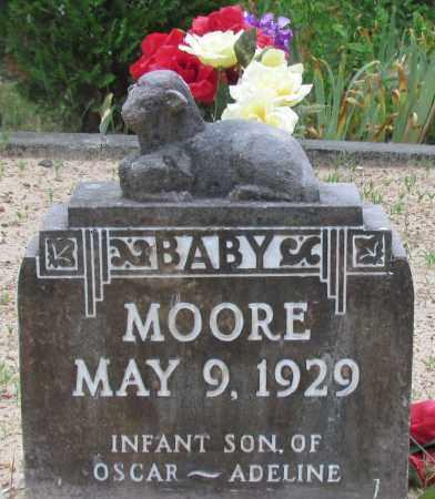 MOORE, BABY - Perry County, Arkansas   BABY MOORE - Arkansas Gravestone Photos