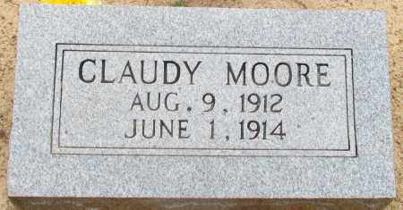 MOORE, CLAUDY - Perry County, Arkansas | CLAUDY MOORE - Arkansas Gravestone Photos