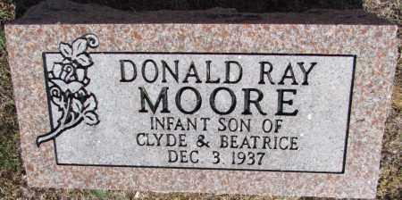MOORE, DONALD RAY - Perry County, Arkansas | DONALD RAY MOORE - Arkansas Gravestone Photos