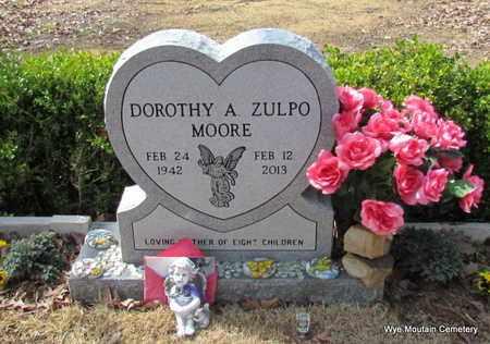 MOORE, DOROTHY ANN BLAKE ZULPO - Perry County, Arkansas   DOROTHY ANN BLAKE ZULPO MOORE - Arkansas Gravestone Photos