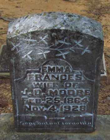 MOORE, EMMA FRANCES - Perry County, Arkansas | EMMA FRANCES MOORE - Arkansas Gravestone Photos
