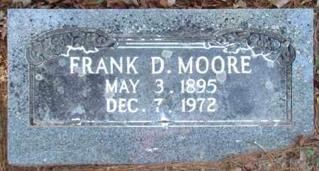 MOORE, FRANK D - Perry County, Arkansas | FRANK D MOORE - Arkansas Gravestone Photos