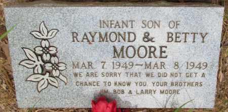 MOORE, INFANT SON - Perry County, Arkansas   INFANT SON MOORE - Arkansas Gravestone Photos