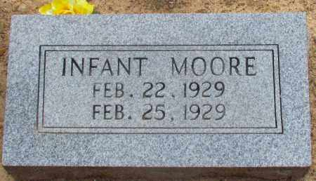 MOORE, INFANT - Perry County, Arkansas | INFANT MOORE - Arkansas Gravestone Photos