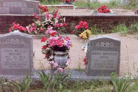 MOORE, JOHN WESLEY - Perry County, Arkansas   JOHN WESLEY MOORE - Arkansas Gravestone Photos