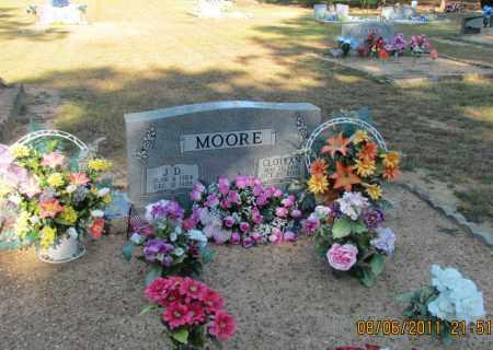 MOORE, J D - Perry County, Arkansas | J D MOORE - Arkansas Gravestone Photos