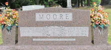 MOORE, JAMES HEBURN - Perry County, Arkansas | JAMES HEBURN MOORE - Arkansas Gravestone Photos
