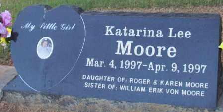 MOORE, KATARINA LEE - Perry County, Arkansas | KATARINA LEE MOORE - Arkansas Gravestone Photos