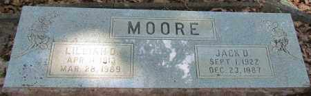 MOORE, LILLIAN D - Perry County, Arkansas | LILLIAN D MOORE - Arkansas Gravestone Photos