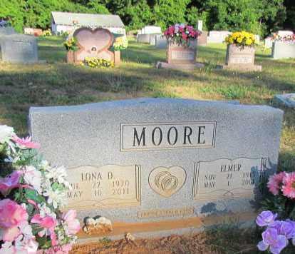 MOORE, LONA D - Perry County, Arkansas | LONA D MOORE - Arkansas Gravestone Photos