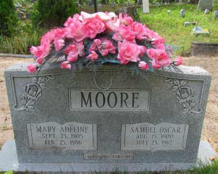 MOORE, MARY ADELINE - Perry County, Arkansas   MARY ADELINE MOORE - Arkansas Gravestone Photos