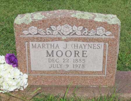 MOORE, MARTHA J - Perry County, Arkansas | MARTHA J MOORE - Arkansas Gravestone Photos