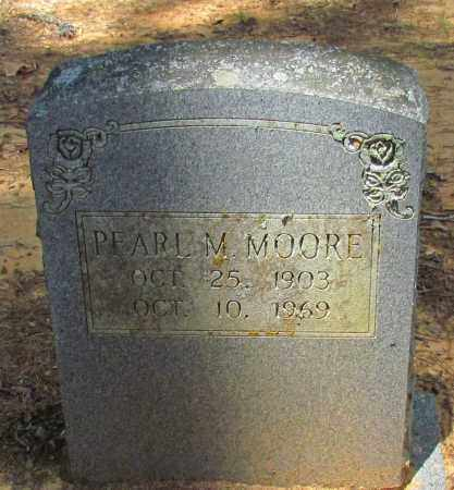 MOORE, PEARL M - Perry County, Arkansas   PEARL M MOORE - Arkansas Gravestone Photos