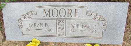 MOORE, SARAH D - Perry County, Arkansas | SARAH D MOORE - Arkansas Gravestone Photos