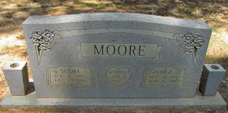 MOORE, GEORGE D - Perry County, Arkansas | GEORGE D MOORE - Arkansas Gravestone Photos