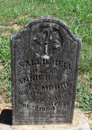 MOORE, SALLIE BELL - Perry County, Arkansas | SALLIE BELL MOORE - Arkansas Gravestone Photos