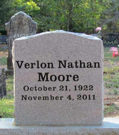 MOORE, VERLON NATHAN (OBIT) - Perry County, Arkansas | VERLON NATHAN (OBIT) MOORE - Arkansas Gravestone Photos