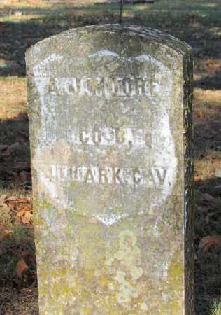 MOORE (VETERAN UNION), A J - Perry County, Arkansas   A J MOORE (VETERAN UNION) - Arkansas Gravestone Photos