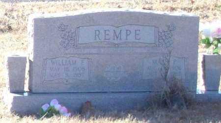 REMPE, MARY P. - Perry County, Arkansas | MARY P. REMPE - Arkansas Gravestone Photos