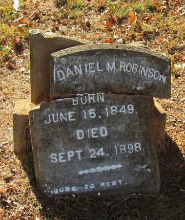 ROBINSON, DANIEL M - Perry County, Arkansas | DANIEL M ROBINSON - Arkansas Gravestone Photos