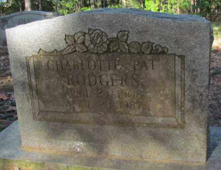 "RODGERS, CHARLOTTE ""PAT"" - Perry County, Arkansas 