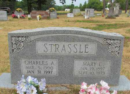 STRASSLE, MARY E - Perry County, Arkansas | MARY E STRASSLE - Arkansas Gravestone Photos