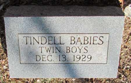 TINDELL, BABIES - Perry County, Arkansas | BABIES TINDELL - Arkansas Gravestone Photos