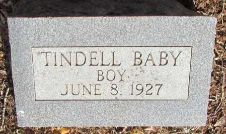 TINDELL, BABY BOY - Perry County, Arkansas   BABY BOY TINDELL - Arkansas Gravestone Photos