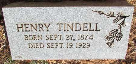 TINDELL, HENRY - Perry County, Arkansas   HENRY TINDELL - Arkansas Gravestone Photos