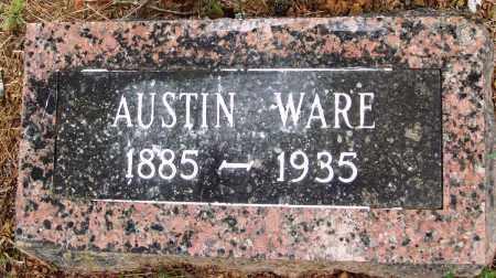 WARE, AUSTIN - Perry County, Arkansas | AUSTIN WARE - Arkansas Gravestone Photos