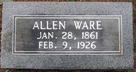 WARE, ALLEN - Perry County, Arkansas | ALLEN WARE - Arkansas Gravestone Photos