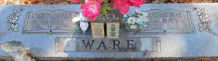 WARE, DELBERT WILLIS - Perry County, Arkansas | DELBERT WILLIS WARE - Arkansas Gravestone Photos