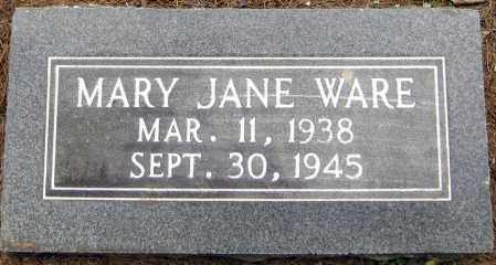 WARE, MARY JANE - Perry County, Arkansas | MARY JANE WARE - Arkansas Gravestone Photos