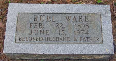 WARE, RUEL - Perry County, Arkansas | RUEL WARE - Arkansas Gravestone Photos