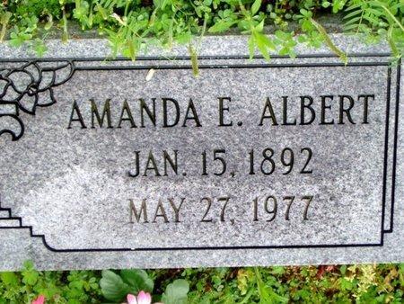 ALBERT, AMANDA E. - Phillips County, Arkansas | AMANDA E. ALBERT - Arkansas Gravestone Photos