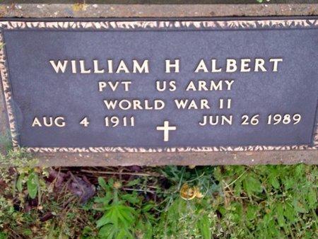 ALBERT (VETERAN WWII), WILLIAM H - Phillips County, Arkansas | WILLIAM H ALBERT (VETERAN WWII) - Arkansas Gravestone Photos
