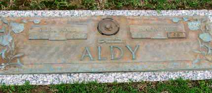 ALDY, BURL HALL - Phillips County, Arkansas | BURL HALL ALDY - Arkansas Gravestone Photos