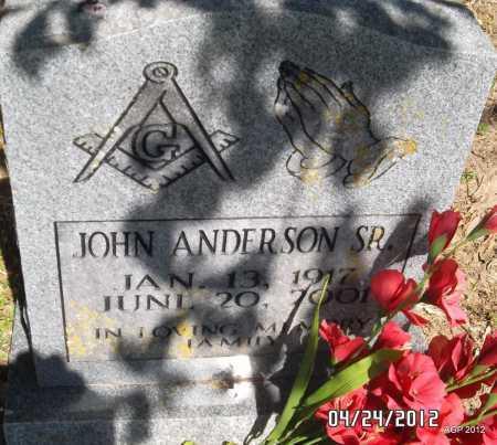 ANDERSON, JOHN - Phillips County, Arkansas   JOHN ANDERSON - Arkansas Gravestone Photos