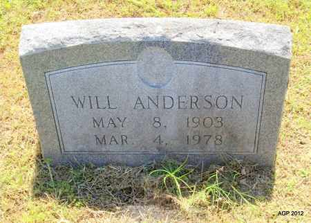 ANDERSON, WILL - Phillips County, Arkansas | WILL ANDERSON - Arkansas Gravestone Photos