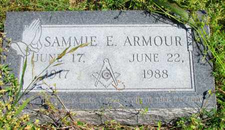ARMOUR, SAMMIE E - Phillips County, Arkansas | SAMMIE E ARMOUR - Arkansas Gravestone Photos