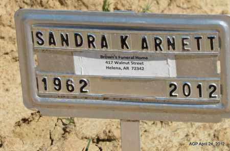 ARNETT, SANDRA K - Phillips County, Arkansas | SANDRA K ARNETT - Arkansas Gravestone Photos