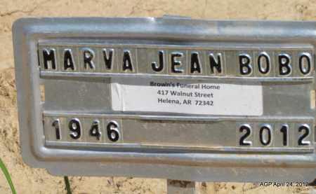 BOBO, MARVA JEAN - Phillips County, Arkansas   MARVA JEAN BOBO - Arkansas Gravestone Photos