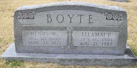 BOYTE, ELLAMAI P - Phillips County, Arkansas | ELLAMAI P BOYTE - Arkansas Gravestone Photos